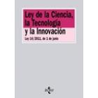 Ley de Ciencia, la Tecnología y la Innovación