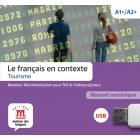 Le français en contexte - Tourisme A1+/A2+ - Llave USB con libro digital