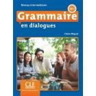 Grammaire en dialogues Niveau intermediaire B1 Livre + CD MP3