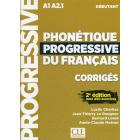 Phonétique progressive du Français: Corrigés débutant (A1- A2.1)