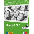 Klasse! A2.1 Übungsbuch mit audio mit video