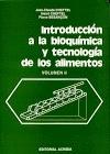 Introducción a la bioquímica y tecnología de los alimentos. vol. II.