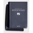 Biblia de Jerusalén (Ed. bolsillo/tapa flexible con funda)