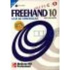 Freehand 10 pràctico. Guía de aprendizaje (libro + CD-ROM)