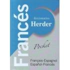 Dicionario Pocket Herder Francés. Francés-Español/Español-Francés