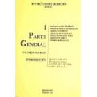 Elementos de derecho civil I. Parte general
