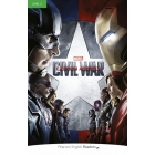 Marvel - Civil War: Captain America - Level 3 + MP3 Pack