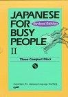 Japanese for busy people II. CD-AUDIO