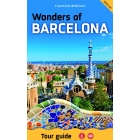 Wonders of Barcelona. Tour guide Map