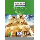 Notre Dame de Paris niveau B1 (1CD audio MP3) (Lectures clé en français facile)
