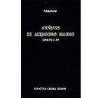 Anábasis de Alejandro Magno, Libros I-III