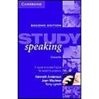 Study Speaking. Cassette new ed.