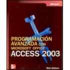 Programación avanzada con Microsoft Office ACCESS 2003