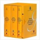 Nueva gramática de la lengua española. Fonética y fonología. Morfología y Sintaxis I. Sintaxis II. DVD Las voces del español (Estuche 3 vols. + DVD)