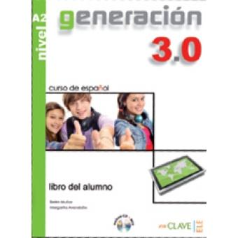 Generacion 3.0 A2 libro del alumno CD MP3