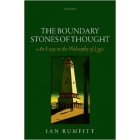 The boundary stones of thought: an essay in the philosophy of logic