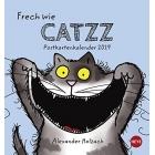 Catzz Postkartenkalender - Kalender 2019