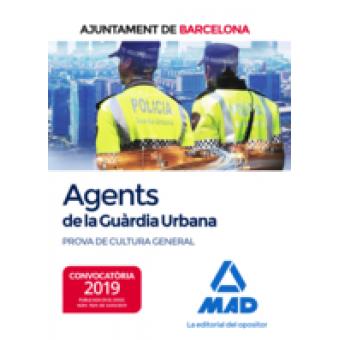 Agents de La Guàrdia Urbana de L?Ajuntament de Barcelona. Prova de cultura general
