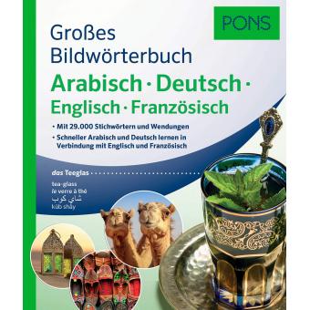 PONS Großes Bildwörterbuch Arabisch - Deutsch.