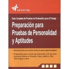 Preparación de pruebas de personalidad y aptitudes