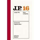 Obra completa Josep Pla 16. Homenots segona sèrie