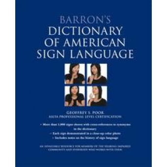 Barron's Dictionary of American Sign Language [Hardcover]