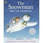 Snowman & the Snowdog Book & CD