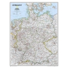 Germany Classic, Laminated: Wall Maps Countries & Regions: PP.NG602814 (National Geographic Reference Map)