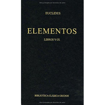 Elementos (Libros V-IX)