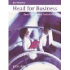 Head for business.Upper-intermediate student's book