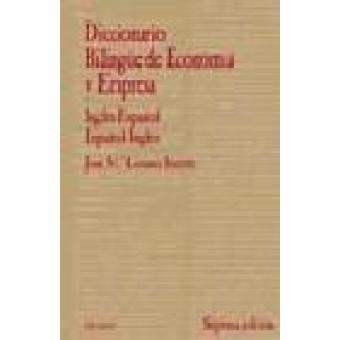 Diccionario bilingüe de economía y empresa