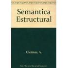 Semantica estructural : investigación metodológica