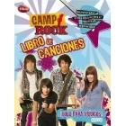 Camp Rock. Libro de canciones (con pegatinas, minipósters y páginas reutilizables)
