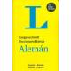 Langenscheidt Diccionario Básico Alemán. Español-Alemán/Alemán-Español