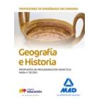 Profesores de Enseñanza Secundaria Geografía e Historia. Propuesta de Programación Didáctica para 4º de ESO