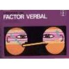 Ejercicios del factor verbal.