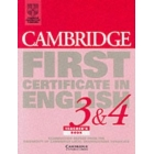 Cambridge first cert.in english 3-4