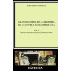 Grandes hitos de la historia de la novela euroamericana, vol. I: desde sus inicios hasta el Romanticismo