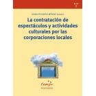 Contratación de espectáculos y actividades culturales por las corporaciones locales