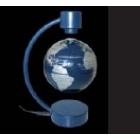 Mini globo-Terráqueo Plata/Azul 11 cm. (con imán)