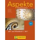 Aspekte 1 B1/1 Lehrbuch + Arbeitsbuch + CD
