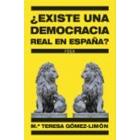 ¿Existe una democracia real en España? Experiencias de una diputada que quiso ser libre