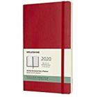 Moleskine* Agenda Semanal-Cuaderno 12 meses Large (rústica-rojo)