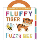 Fluffy tiger fuzzy bee (First Concepts Carry T&F)
