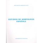 Estudios de morfología española