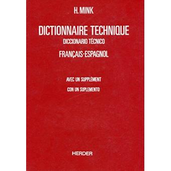 /Diccionario técnico francés-español vol. I/ Dictionnaire technique :  français-espagnol