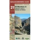 El Montsec II 1/40.000 Prepirineo Catalán