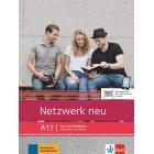 Netzwerk neu A1.1 - Kursbuch und Arbeitsbuch mit Audio und Videos