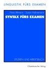 Syntax fürs Examen