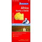 Africa Norte-Oeste (nacional-rojo) 741 1/4.000.000